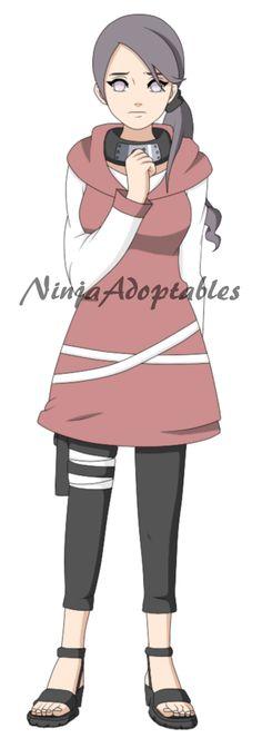 Hyuga Ayame Naruto Style by NinjaAdoptables on DeviantArt
