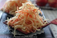 Crispy Crab Sticks (Surimi/Imitation Crab) Great for snacks Surimi Recipes, Endive Recipes, Indian Food Recipes, Asian Recipes, Coffe Recipes, Crohns Recipes, Crab Stick, Jucing Recipes, Achiote