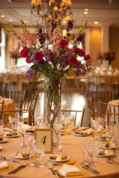 Big or small centerpieces, we can make it happen. My Perfect Wedding, Dream Wedding, Small Centerpieces, Wedding Venues, Wedding Ideas, Wedding Stuff, Party Gifts, Holiday Parties, Wedding Flowers