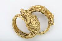 KIESELSTEIN-CORD Alligator Cuffs