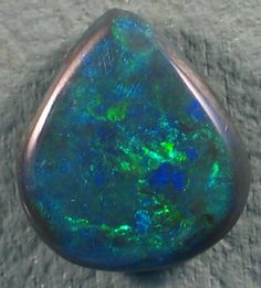 Solid Black  Opal (108) from Lightning Rodge  NATURAL BLACK OPAL FROM LIGHTNING RIDGE NEW SOUTH WALES AUSTRALIA, BLACK OPAL GEMSTONE  AT OPALAUCTIONS.COM