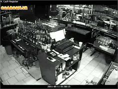 http://ghostreport.net CCTV footage of the exploding ashtray at haunted Colburn's Bar