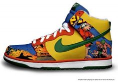 43 Best Comic Nike Dunks images | High tops, New shoes