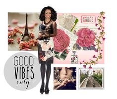 """""""Good Vibes Only..."""" by confusgrk ❤ liked on Polyvore featuring art"""
