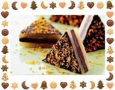 Giv din julekonfekt et frisk tvist med appelsinsmag. Christmas Sweets, Christmas Cooking, Christmas Candy, New Year's Desserts, Sweet Desserts, Delicious Desserts, Yummy Treats, Sweet Treats, Danish Food