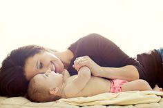 mommy baby shot