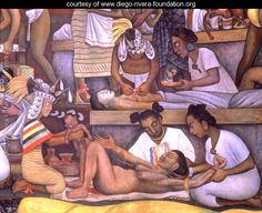 The History of Medicine in Mexico The People's Demand for Better Health, detail of childbirth, Diego Rivera Diego Rivera Art, Diego Rivera Frida Kahlo, Birth Art, Frida And Diego, Frida Art, Social Realism, Mexican Artists, Erotic Art, Love Art