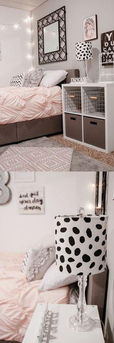 Habitación de colores pasteles / http://houseofroseblog.com