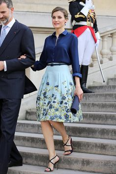 From Her Engagement to 2015, This Is Queen Letizia of Spain's Style Evolution: There's a clear difference in Queen Letizia of Spain's style from the moment it was first announced that the TV reporter (then known as Letizia Ortiz) was engaged to Prince Felipe, back in 2003, to today.