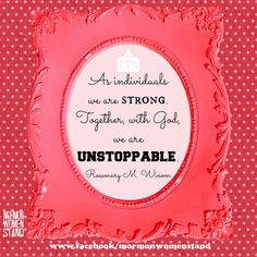 LDS General Women's Conference 2014