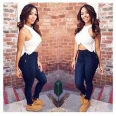Love these Fashion Nova jeans!