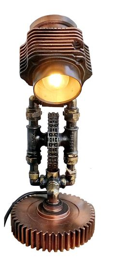 Table Lamp Steampunk Lamp Edison Light loft loft light