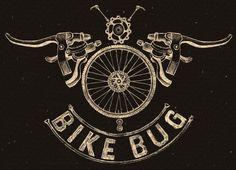 BikeBug MTB by Cycology  Available as a tee shirt from www.bikebug.com