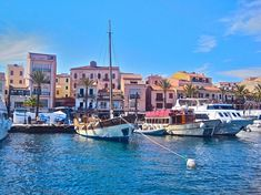Boats away - I'm off to Sardinia, one of the most beautiful islands of all. Beautiful Islands, Beautiful Beaches, My Travel Map, Sardinia Island, Italy Coast, Travel Expert, Places To Visit, Around The Worlds, Explore