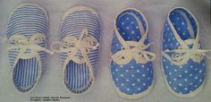 Fuente: www.libelle.nl Baby Vans, Diy Accessoires, Crafts For Girls, Baby Booties, Projects To Try, Baby Boy, Dolls, Sewing, Floral