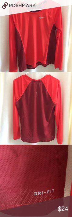 Nike Women's Long Sleeve Dri-Fit Shirt Nike Women's Long Sleeve Dri-Fit Shirt, size large. Condition like new. Nike Tops Tees - Long Sleeve