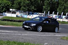 Black Ford Focus RS / ST mk2 Track Day Koszalin Photo by Wujek Stefan