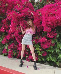 Summer's most fashionable combination T-shirt + half skirt - Page 8 of 26 - zzzzllee Hyuna Fashion, Pop Fashion, Triple H, K Pop, El Divo, Hyuna Kim, Rapper, E Dawn, Pretty Asian