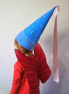 Vestiti di Carnevale fai da te: cappello da fata - MammaViò