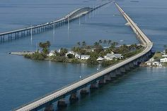 In Marathon, you can park and walk or bike on the Old Seven Mile Bridge, built by Henry Flagler in 1908 to connect the Keys.  Exactly 2.2 miles out, you'll come to Pigeon Key, born as a camp for the railroad workers who built and then maintained the bridge between 1908 and 1935. Seven buildings from the Flagler era - all listed on the National Register of Historic Places - are still on the island today.