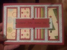 DIY christmas card. :D