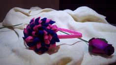 NATHALIA´S HEADBANDS & MORE: Diadema con molinillo de fieltro