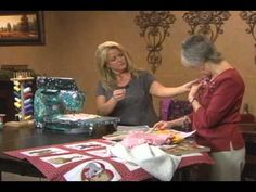 How To free motion quilt & embroider on any sewing machine sheryl borden…