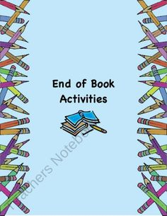 End of Book Activity Ideas ~ Book Report Alternatives from The Teaching Bank on TeachersNotebook.com (5 pages)