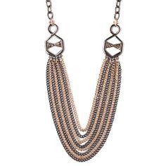I love the Catherine Stein Designs Multi Row Necklace from LittleBlackBag