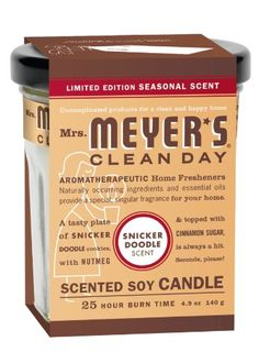 Mrs. Meyers Clean Day Candle – Snickerdoodle