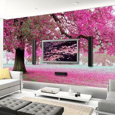 arboles de cerezo pintados - Buscar con Google