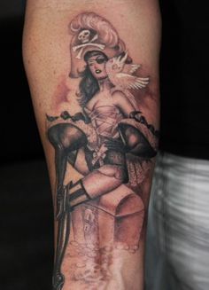 An Olivia pin-up done by Chris Garver....<3 it!