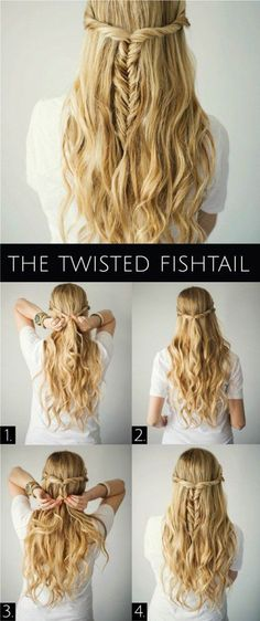wow,if I have long hair, I would like to do this!