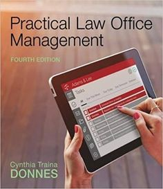 Test bank for practical law office management edition by donnes 1305577922 9781305577923 Cynthia Traina Donnes Office Management Practical Law Free Pdf Books, Free Ebooks, Reading Online, Books Online, Week Schedule, Study Test, Stefan Zweig, Booker T, Paralegal