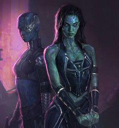 GOTG Gamora concept