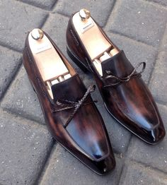 Caulaincourt shoes - Neuhaus - chocolat
