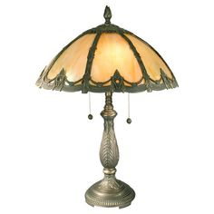 I pinned this 6 Side Filigigree Table Lamp from the Dale Tiffany event at Joss & Main!