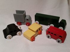 Hand Made Wood Toy Cars & Trucks by gingerlyturnings on Etsy