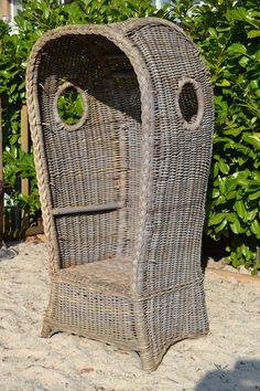 Prachtige gave strandstoel