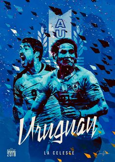 Uruguay: La celeste = The Sky Blue! World Cup 2018 Teams, Fifa World Cup, Coco Costume, Colombia Soccer, Fifa Teams, Mens World Cup, Soccer Cup, Football Mexicano, Messi And Ronaldo