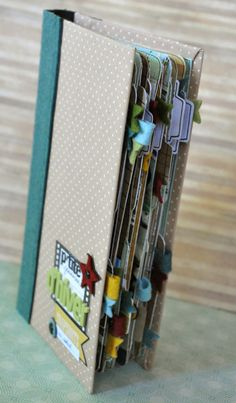 Cute mini book/ smash book