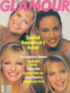 Christy Brinkley , Beverly Johnson , Cheryl Tiegs and Kim Alexis.