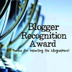 Blogger Awards Are Like Presents ... or a Pat on The Back (Part 2)