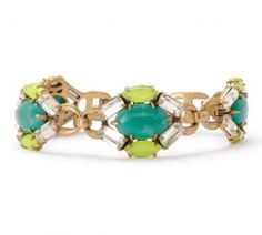 The new Jardin bracelet from our new spring collection.  Get it at www.stelladot.com/nicki
