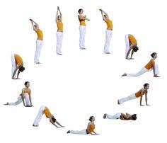 Yoga Sonnengruß + weitere Anleitungen und Kurse.