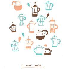 And tea...
