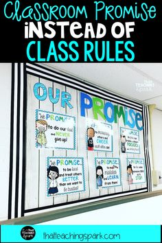 Creating a Class Promise Instead of Classroom Rules - That Teaching Spark