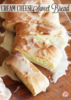 Cream Cheese-Filled Sweet Bread