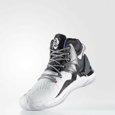 fc7fc8795d8 Adidas D Rose 7 Black History Month White Black BY3475 Size 13.5  adidas   BasketballShoes