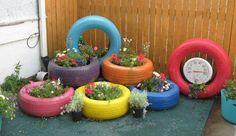 my tire garden